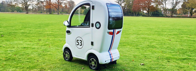 Custom Mobility Scooters - Custom Mobility Scooter Designs - Wacky Races Design